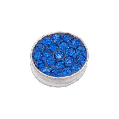 iXXXi Top Part Capri Blue Stone Zilverkleurig