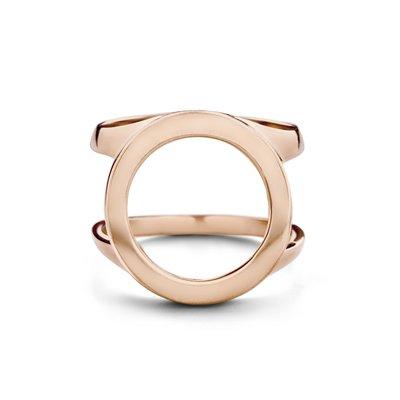 Melano Friends Cover Ring Rose Goudkleurig
