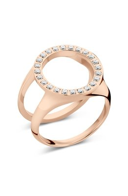 Melano Friends Cover Ring Zirkonia Rose Goudkleurig