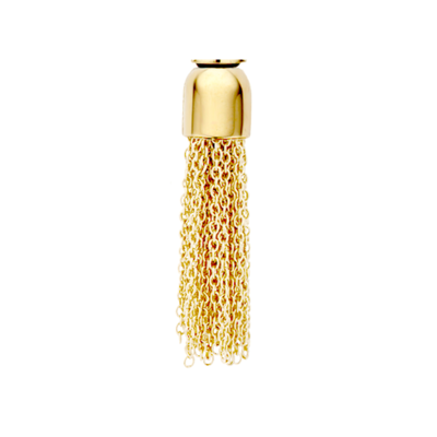 Melano Twisted Meddy Tassle Limited Edition Edelstaal Goudkleurig