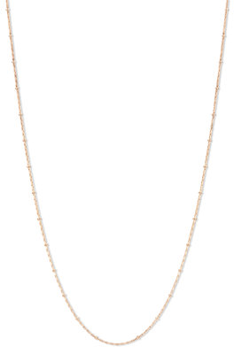 Melano Friends Ketting Dotted Rose Goudkleurig