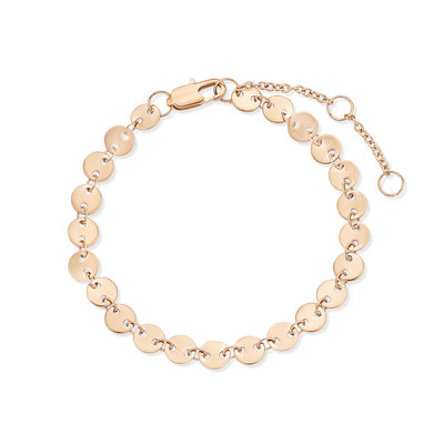 Melano Friends Armband Circle Rose Goudkleurig