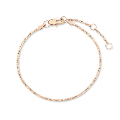 Melano Friends Armband Flat Wheat Rose Goudkleurig