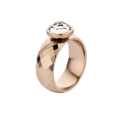 Melano Vivid Ring Vai Stainless Steel Rose Gold-coloured