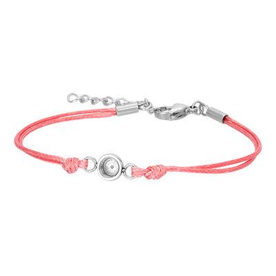 iXXXi Verstelbare Top Part Armband Pink