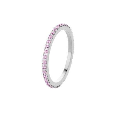 Melano Friends Ring Sade Silver-coloured Zirkonia Blossom