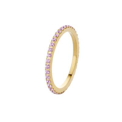 Melano Friends Ring Sade Gold-coloured Zirkonia Blossom