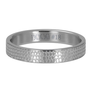 iXXXi Ring 4mm Giraffe Silver-Coloured