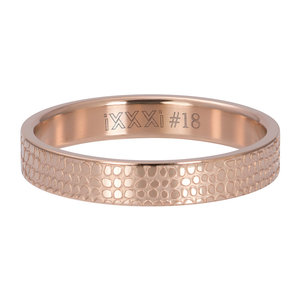 iXXXi Ring 4mm Giraffe Rose Gold-Coloured