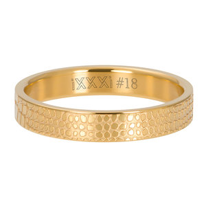 iXXXi Ring 4mm Giraffe Gold-Coloured