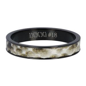 iXXXi Ring 4mm Phyton Black