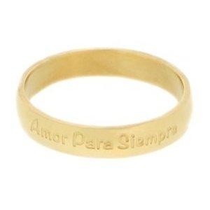 iXXXi Ring 4mm Goudkleurig Amore Para Siempre