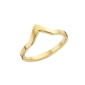 Melano Friends Ring Goudkleurig Pointed