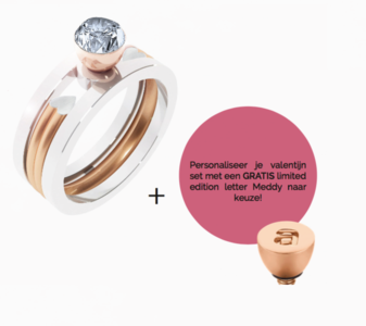 MelanO Valentine 2018 Limited Edition Ring Set