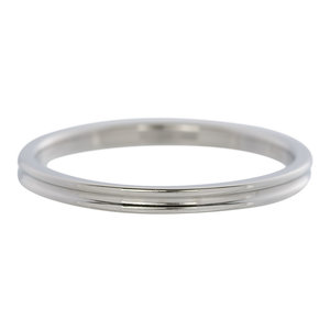 iXXXi Ring 2mm Stainless Steel Small Ribbel
